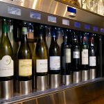 Wines by the glass in perfect condition